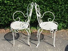 antique vintage wrought iron patio furniture popular vintage