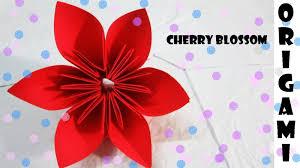 membuat hiasan bunga dari kertas lipat cara membuat origami burung bunga katak kucing dan kupu kupu