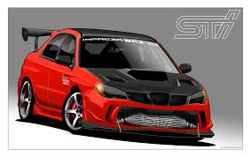 custom subaru impreza by donbenni on deviantart