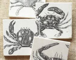 crab decor etsy