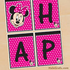 the best free minnie mouse party printables u2013 little wish parties