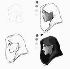 30 minute profile invention sketch digital sketches