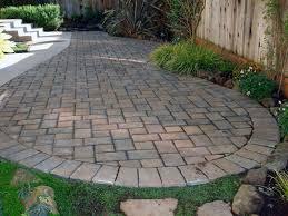 Brick Paver Patio Cost Outdoor Brick Paver Patio Designs Home Design Ideas