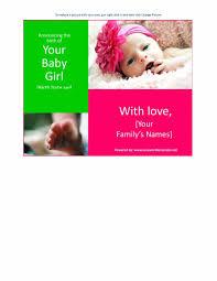 newborn announcement templates eliolera com