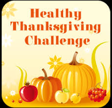 the healthy thanksgiving challenge badge what would