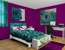 teal and purple bedroom luxury home design ideas
