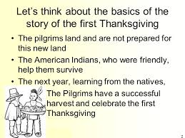 the about the thanksgiving a history mystery ppt