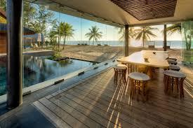 pool glass walls dining space beach u0026sea views iniala beach