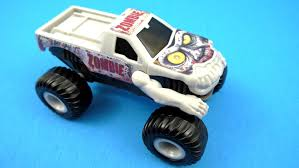 youtube monster trucks jam zombie truck 2015 mcdonald u0027s monster jam toy 8 complete set of 8