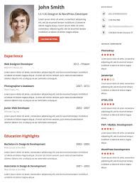 Creating An Online Resume by 15 Ways To Create An Online Resume U2013 Wp Theme Roundups