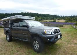 pop up cer toyota tacoma pop up shorter 5 0 bed fwc truck cer