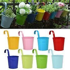 Flower Pot Holders For Fence - best 25 hanging flower pots ideas on pinterest potted plants