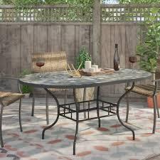 loon peak sequoyah oval dining table u0026 reviews wayfair