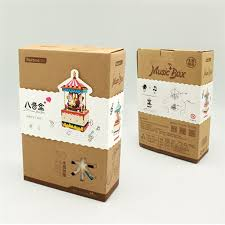 Free Wooden Puzzle Box Plans by 3d Puzzle Wooden Multi Color Music Box Diy Present Home Decor