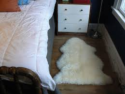 Lambskin Rugs Accessories Small Sheepskin Rug With Beautiful Comfy Sheepskin