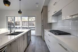 light grey acrylic kitchen cabinets china canadian style two tone color light grey oak and white