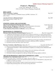 Undergraduate Resume Template Word Pharmacy Resume Examples Hospital Pharmacist Resume Pharmacist