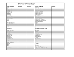 Dave Ramsey Budget Spreadsheet Client Budget Worksheet Gale Law Firm Minnesota Bankruptcy