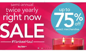 yankee candle semi annual sale up to 75 offliving rich with coupons