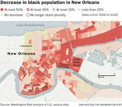 Map New Orleans French Quarter by New Orleans Ten Years Later The Washington Post