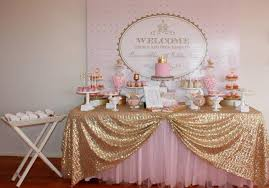 pink gold royal princess party planning ideas supplies idea cake