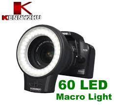 Best Ring Light Yongnuo Macro Photography Led Ring Light Wj 60 60 Led 5500k 450lm