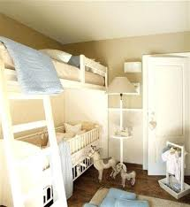 Cot Bunk Beds Bunk Bed With Crib On Bottom Loft Bed With Crib Underneath