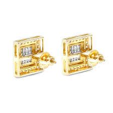 gold earring studs designs designer earrings 14k gold diamond earrings studs 1 24