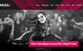 best wedding album website wedding dj website templates desorium