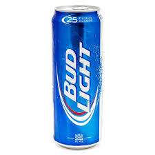 bud light beer can bud light 25oz can beer wine and liquor delivered to your door