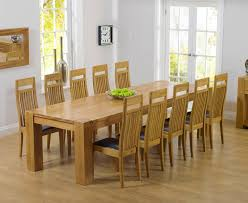 oak dining table and 8 chairs u2013 sl interior design