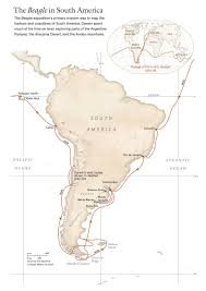 Geographical Map Of South America by Hms Beagle Leaves To Explore South America National Geographic