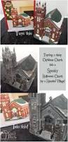 Halloween Light Show House Best 25 Halloween Village Ideas On Pinterest Diy Halloween