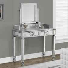 glass vanity table with mirror bedroom vanit glass vanity set makeup dresser with lights white