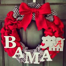 alabama ribbon best 25 alabama wreaths ideas on alabama crafts