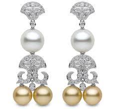 mardi gras earrings britt s mardi gras yoko london s south sea pearl earrings jck