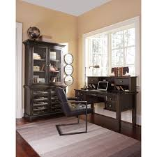 Pine Home Office Furniture by Solid Pine Home Office Desk U0026 Hutch With Power Strip By Signature