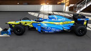 renault f1 alonso mickearlson racing replicas back from hiatus 1996 lazier 2011