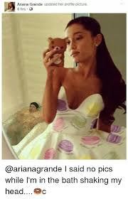 Meme Profile Pictures - ariana grande updated her profile picture 6 hrs i said no pics