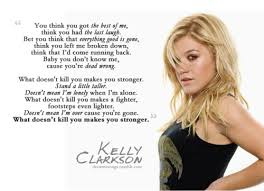 kelly clarkson what doesn u0027t kill you stronger music u003c3