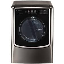 lg signature 9 0 cu ft gas dryer with turbo steam in black
