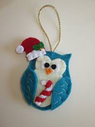 ornaments with felt owl handmade ornaments for