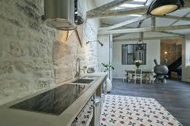cuisine carreau ciment peinture pour credence cuisine carrelage pour credence cuisine