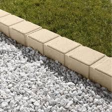 bloc de pierre pour mur bordure de jardin bois béton plastique pierre acier ardoise