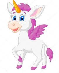 imagenes de unicornios en caricatura caricatura lindo unicornio vector de stock tigatelu 27384685