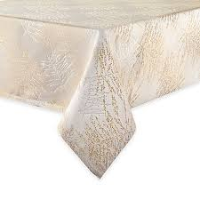 waterford table linens damascus waterford linens timber tablecloth in gold silver bed bath beyond