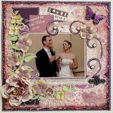 wedding scrapbooks albums a touch of match rimony