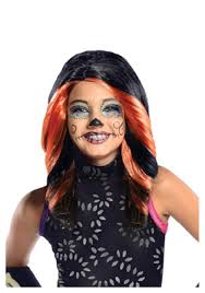 Monster High Halloween Costumes Girls Monster High Skelita Calaveras Child Wig