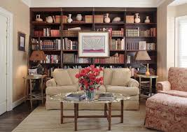 Dark Bookcase Built In Bookcase Ideas Family Room Traditional With Dark Stained