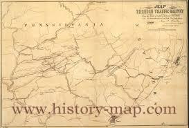 Map Pennsylvania Railroad Map